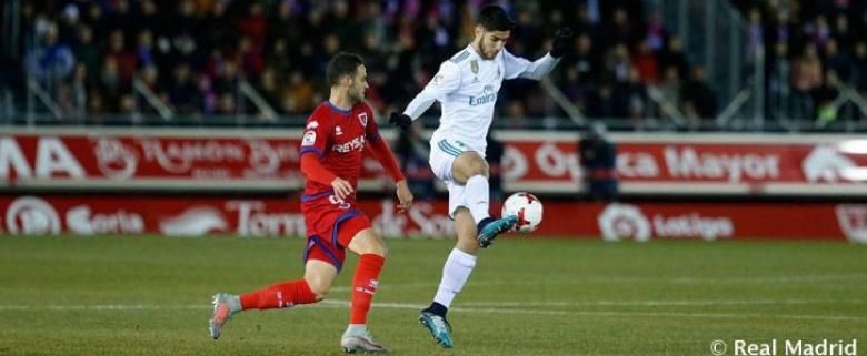 ريال مدريد يتأهل في الكأس رغم تعثره أمام نومانسيا
