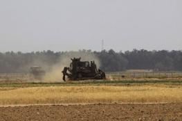 توغل محدود لجرافات الاحتلال شرق غزة
