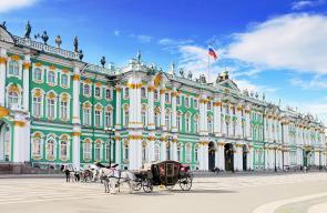 متحف الإرميتاج في سانت بطرسبرغ الروسية