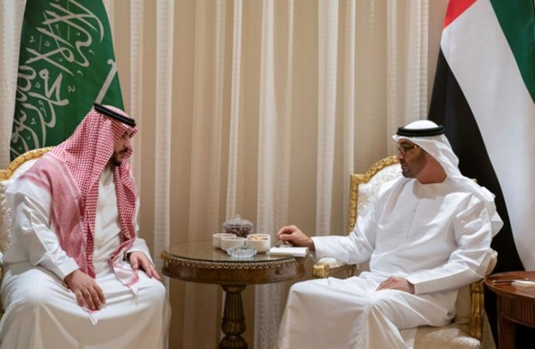 نائب وزير الدفاع السعودي يلتقي ابن زايد بأبو ظبي.. ماذا بحثا؟