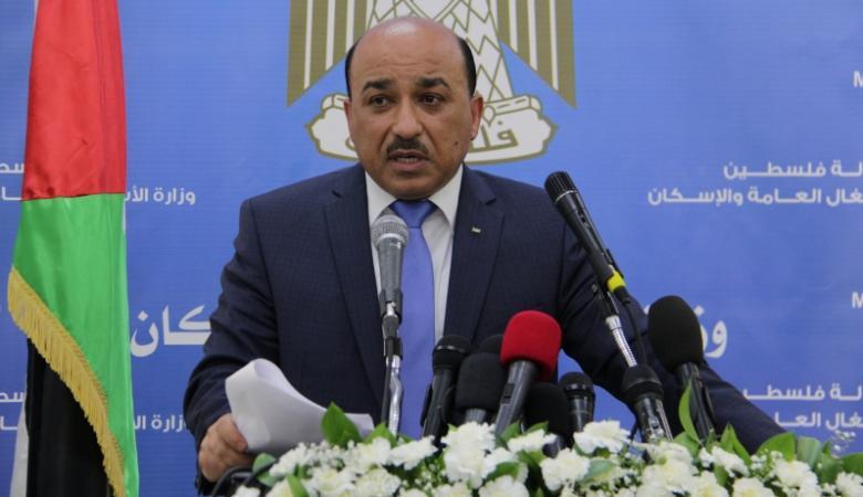 الحساينة: الحكومة جاهزة ولديها خطط للقيام بواجباتها بغزة