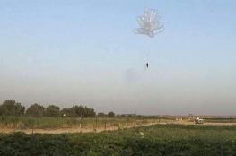 جيش الاحتلال الإسرائيلي يعرض منظومة جديدة لمكافحة الطائرات الحارقة