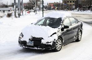 الثلوج تغطي عددا من الولايات الأمريكية