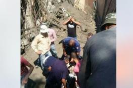 إصابة عامل بانهيار سقف مبنى قيد الإنشاء في نابلس