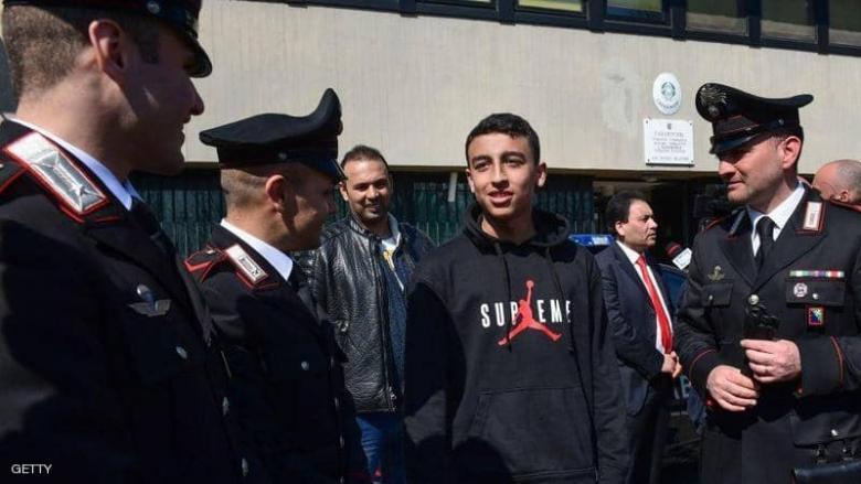 """استثناء """"تاريخي"""" يمنح الطفل المصري """"البطل"""" الجنسية الإيطالية"""
