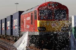 """قطار """"طريق الحرير"""" يصل من الصين إلى بريطانيا"""