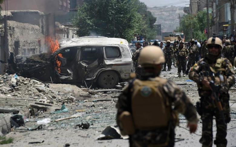 مقتل 57 مسلحًا خلال هجمات برية وجوية في أفغانستان
