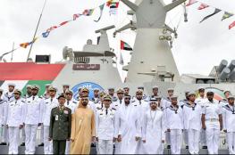 الإمارات تدشن زورق صواريخ متطور محلي الصنع
