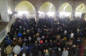 حملة الفجر العظيم من مسجد جنين الكبير