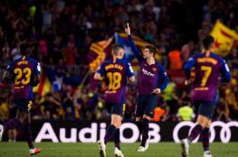 برشلونة يستعيد صدارة الليجا أمام إشبيلية في ليلة مؤلمة لميسي