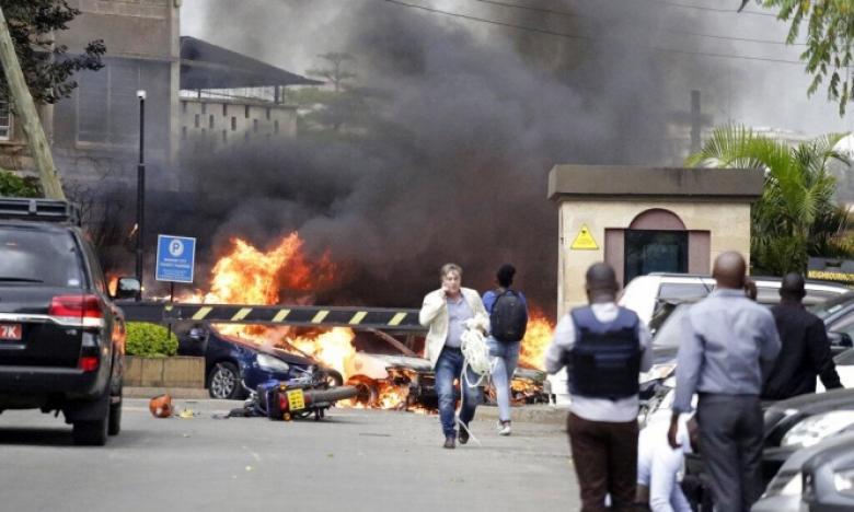 15 قتيلا في هجوم مسلح على مجمع فندقي في نيروبي