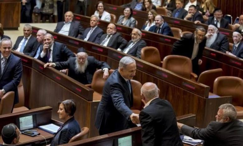 نتنياهو يبتز أحزاب الإئتلاف حتى نهاية ولاية حكومته