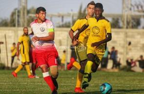 مباراة خدمات النصيرات والأقصى في دوري الدرجة الأولى