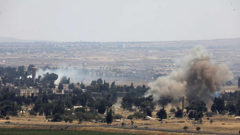 الجيش الإسرائيلي يستهدف مناطق عدة في القنيطرة