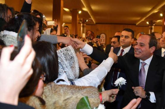 السيسي يعلن ترشحه للانتخابات الرئاسية المقبلة
