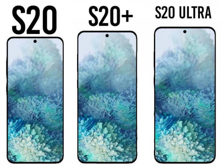 تسريب تصميم ومواصفات Galaxy S20
