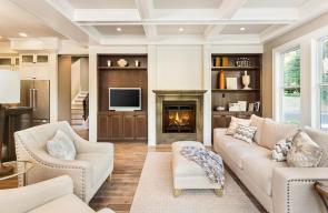 غرف الجلوس الكلاسيكية والمودرن