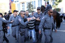 الاحتلال يعتقل 17 شابا في مواجهات القدس
