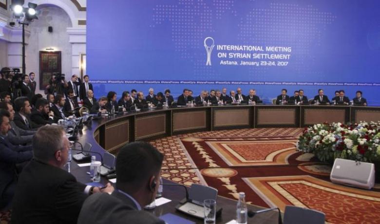 مفاوضات بأستانا والمعارضة تحذر من مهاجمة الغوطة