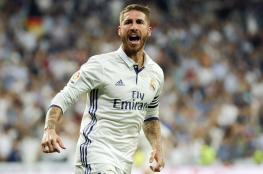راموس يعتدي على لاعب ريال مدريد في التدريبات