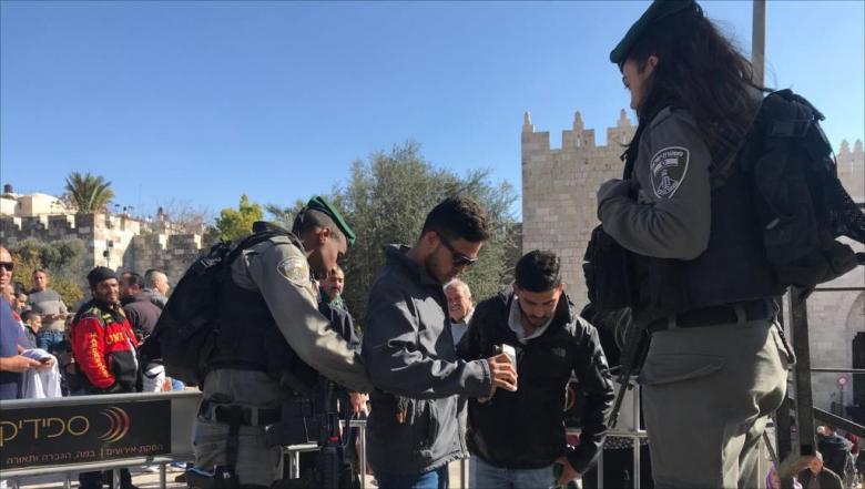 """3750 معتقلًا مقدسيًا منذ إعلان ترامب القدس عاصمة لـ""""إسرائيل"""""""