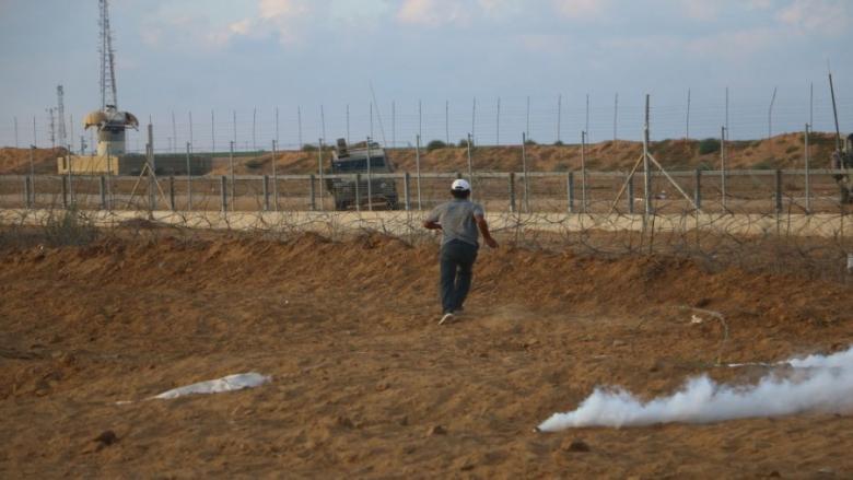 استشهاد طفل بعد اجتيازه السياج الفاصل جنوب قطاع غزة
