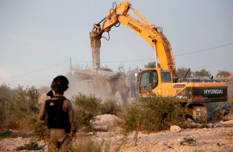 """""""واد الحمص"""".. حي فلسطيني مهدد بالإزالة كاملا"""