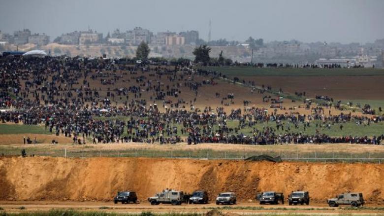 """غزة تتجهز لـ """"جمعة المقاومة خيارنا"""""""