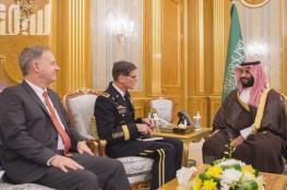 بن سلمان يلتقي قائد القيادة المركزية الأميركية