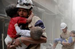 غارات بالكلور في حلب والمعارضة تتقدم بعدة محاور
