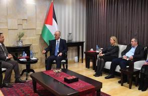الحمد الله يستقبل السفير الهندي لدى فلسطين