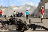 مقتل 41 جندياً في سلسلة تفجيرات بمدينة المكلا اليمنية
