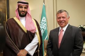 ابن سلمان حضر اجتماع ملك الأردن ونتنياهو