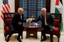عباس يستقبل ترمب في بيت لحم