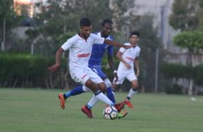 مباراة خدمات الشاطئ وشباب رفح في دوري الممتازة