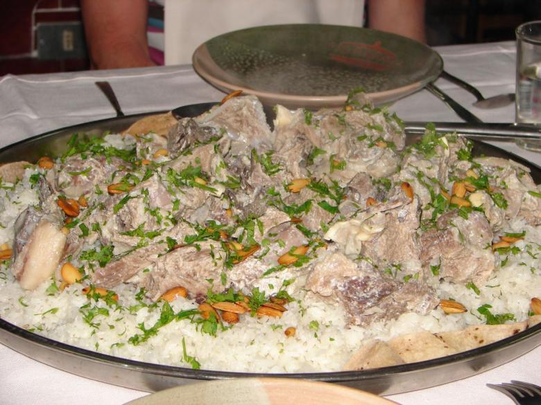 طريقة تحضير المنسف الأردني باللحم البلدي