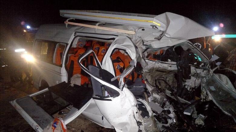 مصر.. مصرع 11 شخصا إثر حادث سير بالمنيا