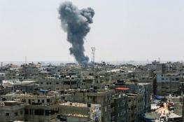 بيان لجيش الاحتلال حول الغارات الأخيرة على غزة
