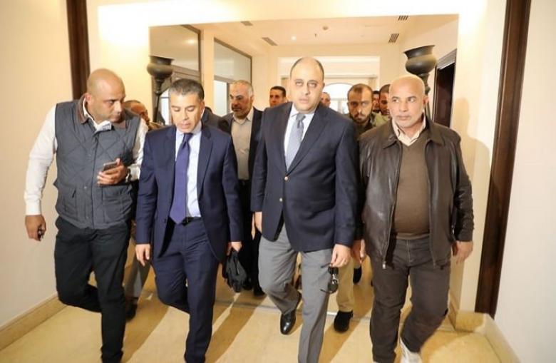 """وفد المخابرات المصرية يصل غزة عبر معبر """"إيرز"""""""