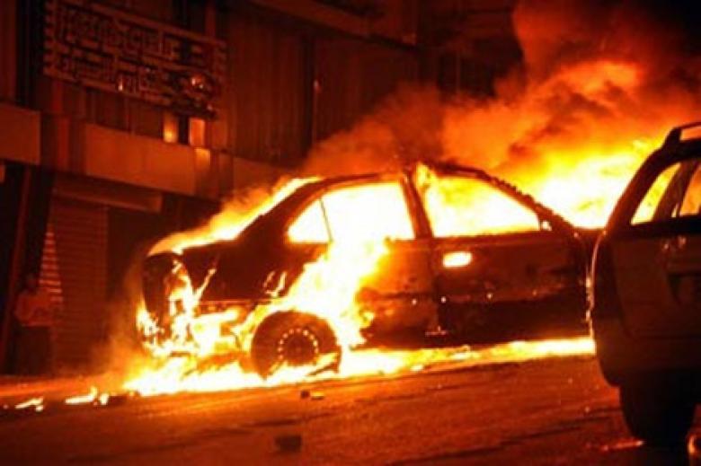 الشرطة تكشف ملابسات جريمة حرق جنائي لمركبة في الخليل