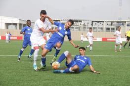 تحديد موعد ومكان المباريات المنقولة في دوري غزة
