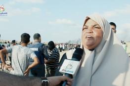 رسائل المشاركين في المسير البحري الـ11 شمال القطاع