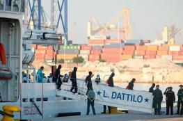 """وصول 630 مهاجرا لميناء فالنسيا الإسباني على متن """"اكواريوس"""""""