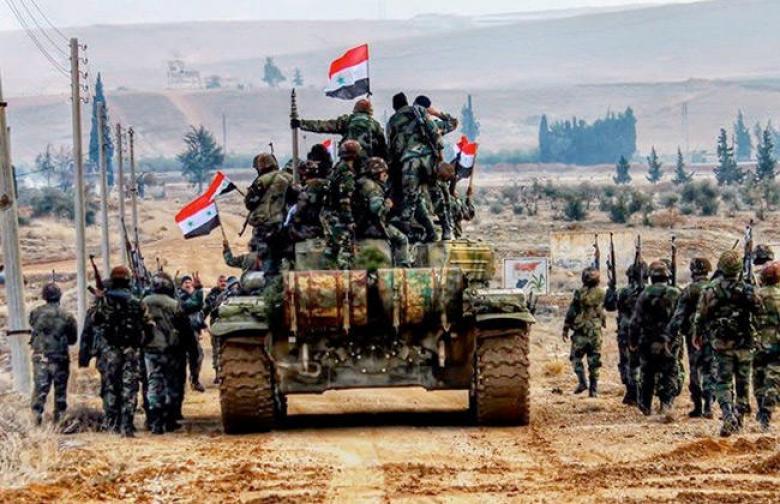 تقدم بري للجيش السوري باتجاه بادية السويداء