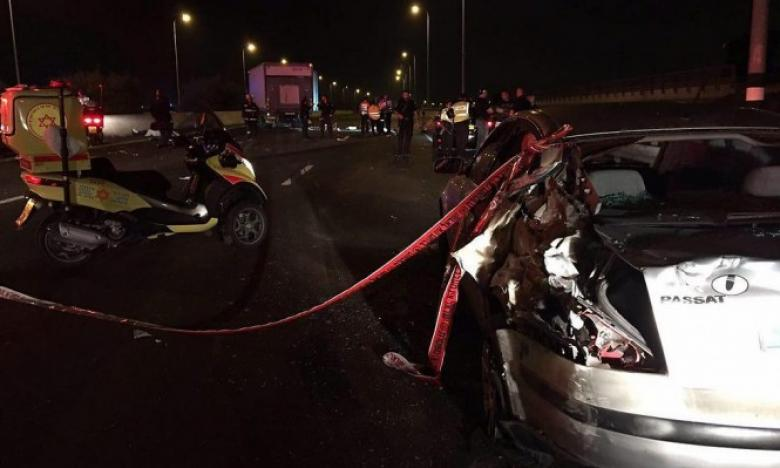 مصرع 3 شبان دهسا تحت عجلات شاحنة شرق القدس