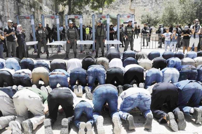 المقدسيون لن يدخلوا الأقصى عبر بوابات الاحتلال