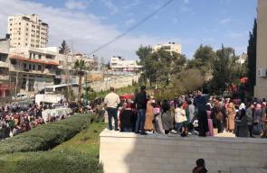 أكثر من 20 اصابة في صفوف طلاب جامعة الخليل اثر انفجار مولد لنظام تدفئة في الجامعة