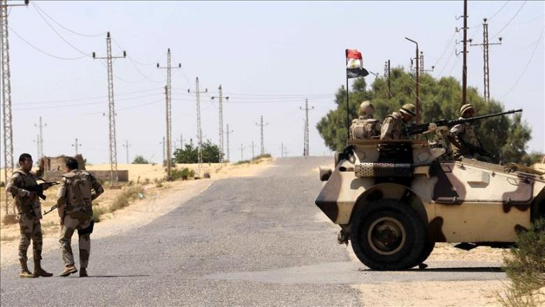 مقتل 18 شرطيًا مصريًا بهجوم شمال سيناء
