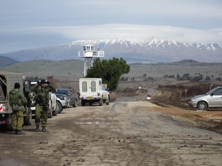 جيش الاحتلال يتوغل في الأراضي السورية