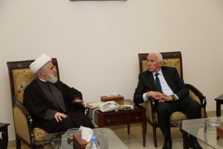 الأحمد يلتقي نائب أمين حزب الله.. وهذا ما بحثاه